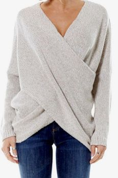 Sweaters outfit idea you should try this year (065)   fashion