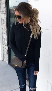 Sweaters outfit idea you should try this year (078)   fashion