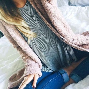 Sweaters outfit idea you should try this year (081)   fashion