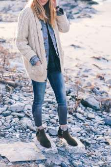 Sweaters outfit idea you should try this year (101) | fashion