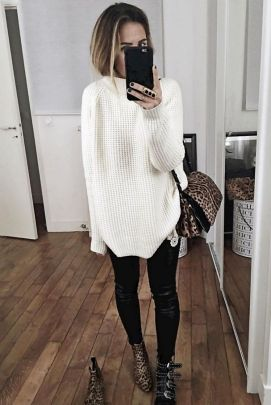 Sweaters outfit idea you should try this year (106) | fashion