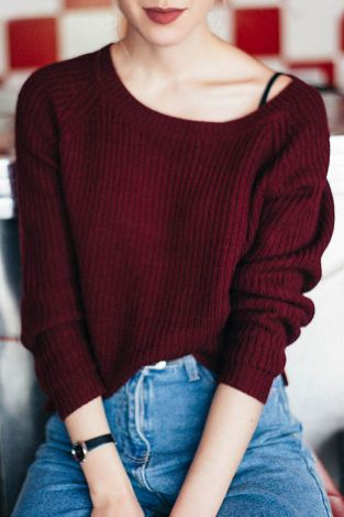 Sweaters outfit idea you should try this year (114) | fashion