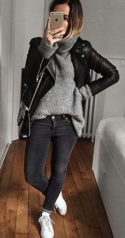 Sweaters outfit idea you should try this year (117) | fashion