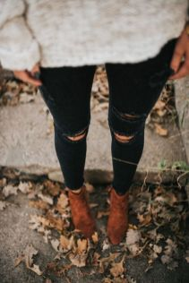Sweaters outfit idea you should try this year (121)   fashion