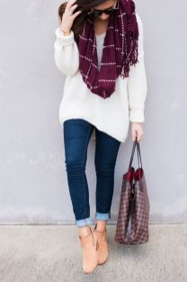 Sweaters outfit idea you should try this year (122)   fashion