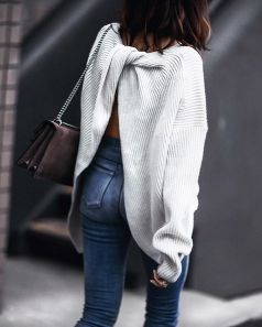 Sweaters outfit idea you should try this year (130) | fashion
