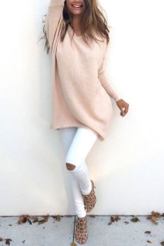 Sweaters outfit idea you should try this year (135)   fashion