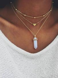 The Ultimate Layered Necklaces Idea - 13 | Fashion DressFitMe
