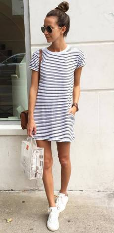 Women's white sneakers outfit 37