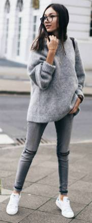 Women's white sneakers outfit 52