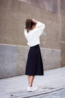 Women's white sneakers outfit 86