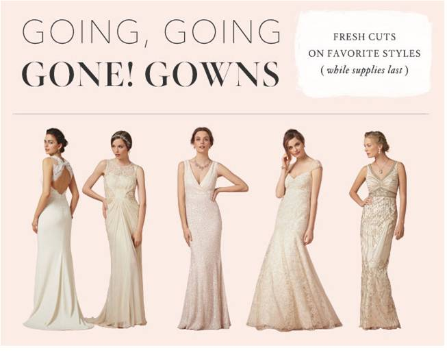 Sale At BHLDN On Wedding Dresses, Bridesmaid Dresses, And