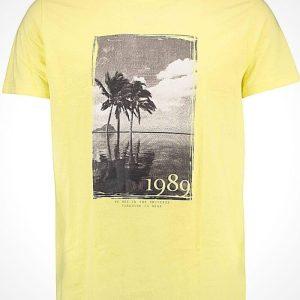 Тениска Hailys в жълто