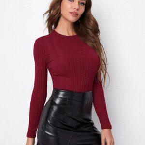 Вталена дамска блуза