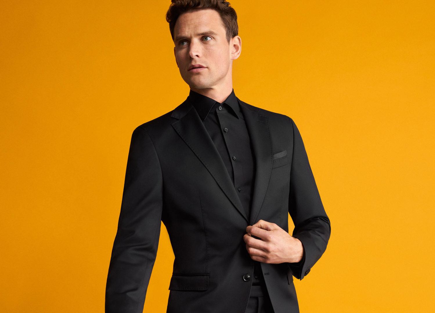 Μαυρο κλασικο κοστουμι