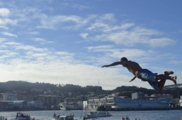 Salto dende o Paredón 17