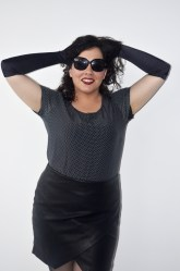 Femme Fatale 9: Sarah Outeiral. Polka Dot