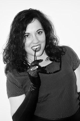 Femme Fatale 10: Sarah Outeiral. Polka Dot