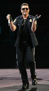 George Michael performs the second night of his '25 Live' Tour at Madison Square Garden