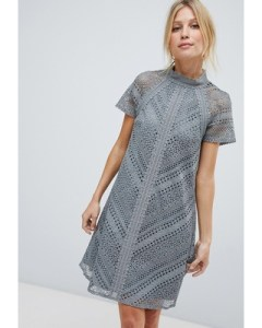 little-mistress-all-over-lace-mini-shift-dress-gray