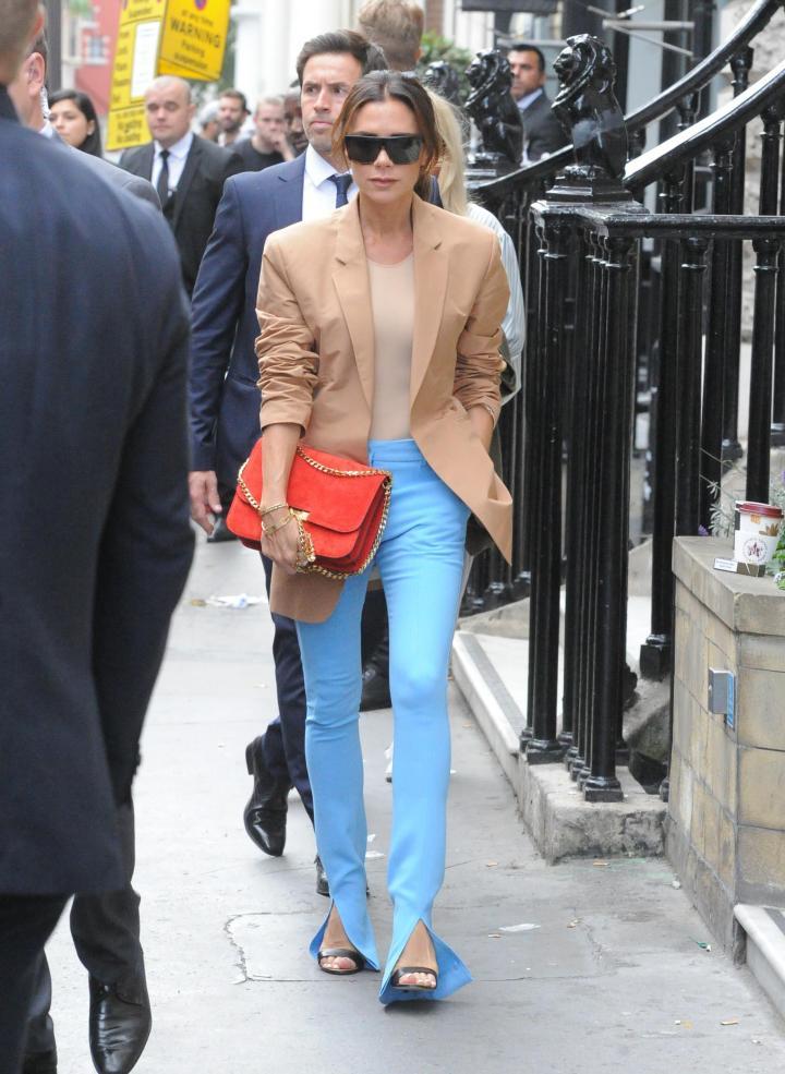 Front Split Pants Trend