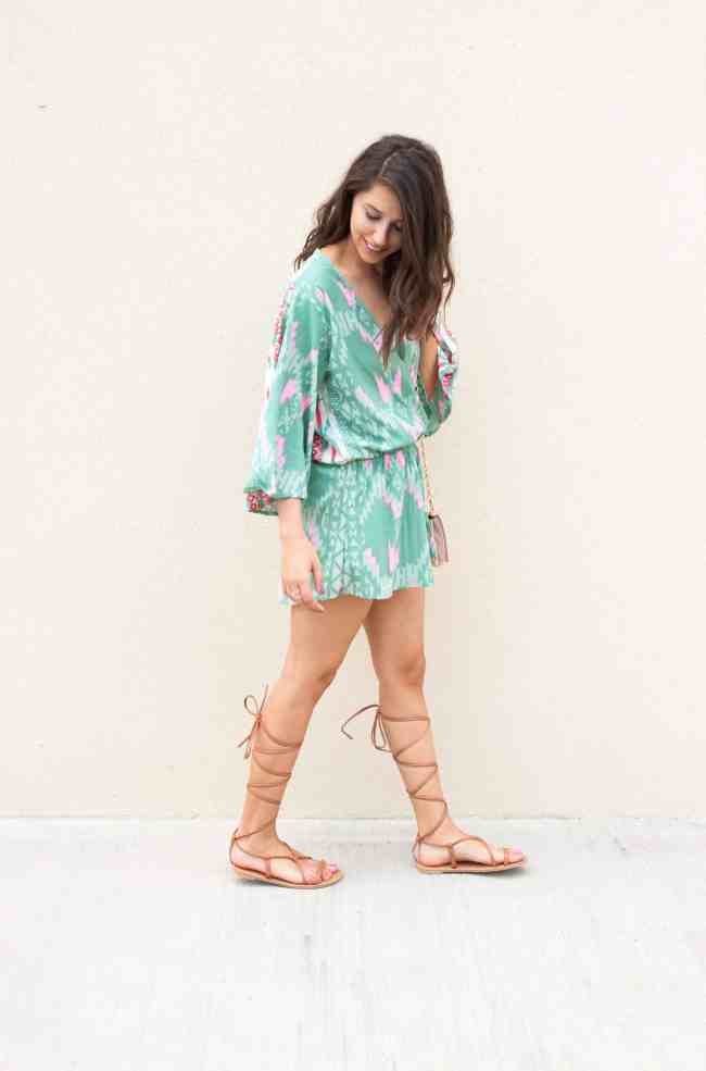 Dress Up Buttercup // A Houston-based fashion and inspiration blog developed to daily inspire your own personal style by Dede Raad | Santa Fe Romper