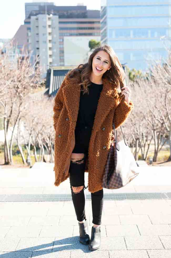 Dress Up Buttercup // A Houston-based fashion travel blog developed to daily inspire your own personal style by Dede Raad | Teddy Bear Coat