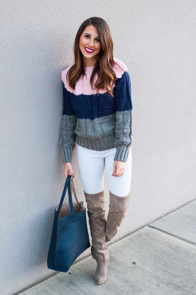 Dress Up Buttercup // A Houston-based fashion travel blog developed to daily inspire your own personal style by Dede Raad   Ice Cream Sweater