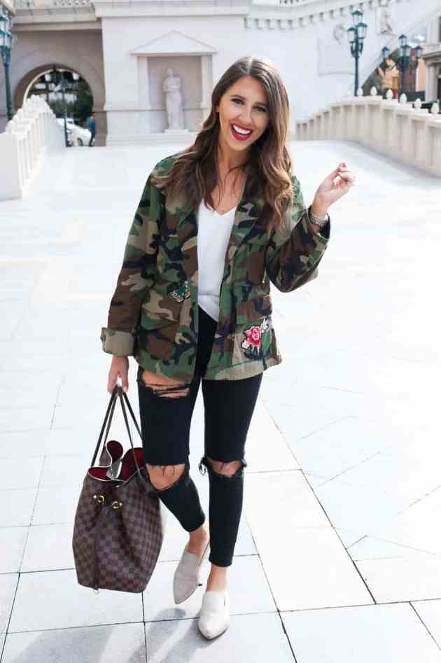 Dress Up Buttercup // A Houston-based fashion travel blog developed to daily inspire your own personal style by Dede Raad | Camo in Vegas