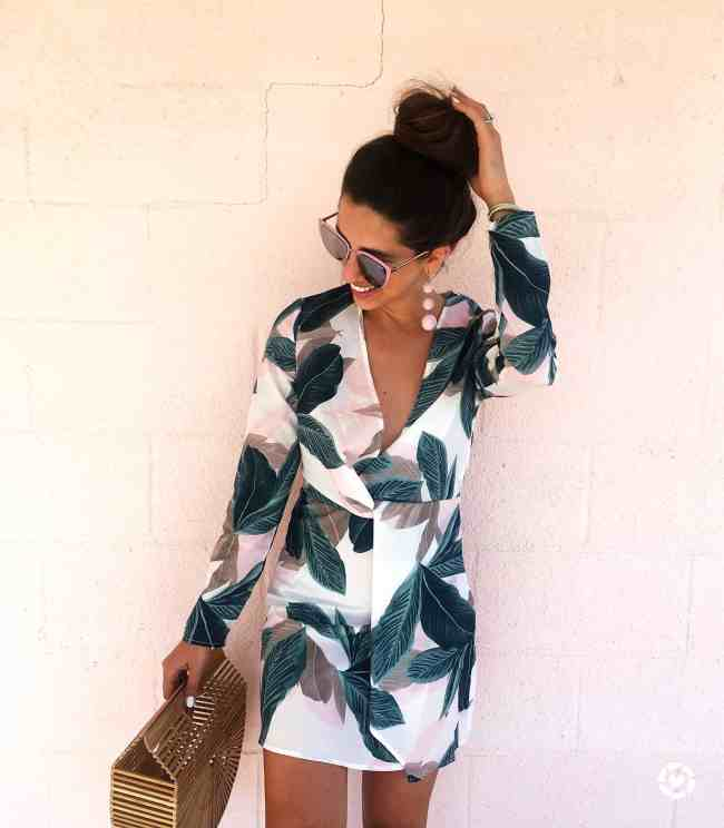 dress up buttercup palm print trending 30a travel blogger