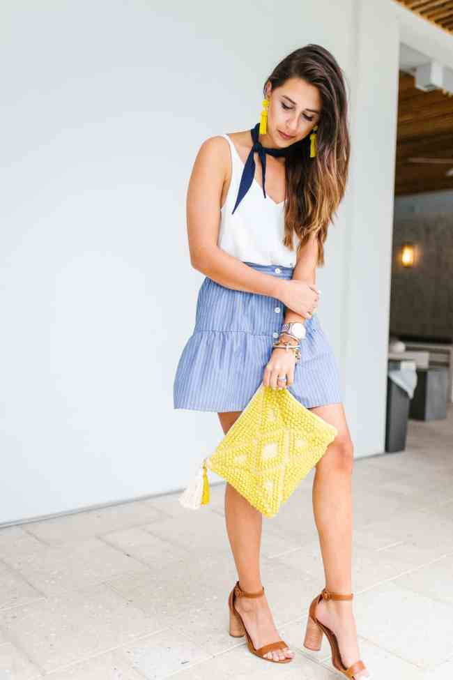 Dress Up Buttercup // A Houston-based fashion and inspiration blog developed to daily inspire your own personal style by Dede Raad | Neck Scarf Trend