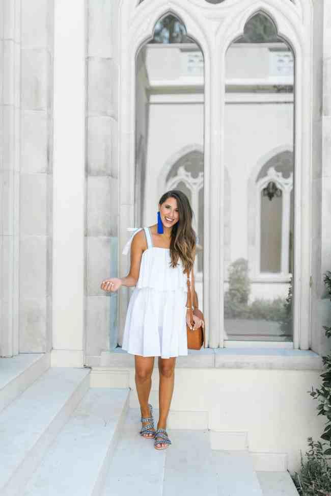 Dress Up Buttercup | White Linen Night | Summer White Linen Dress