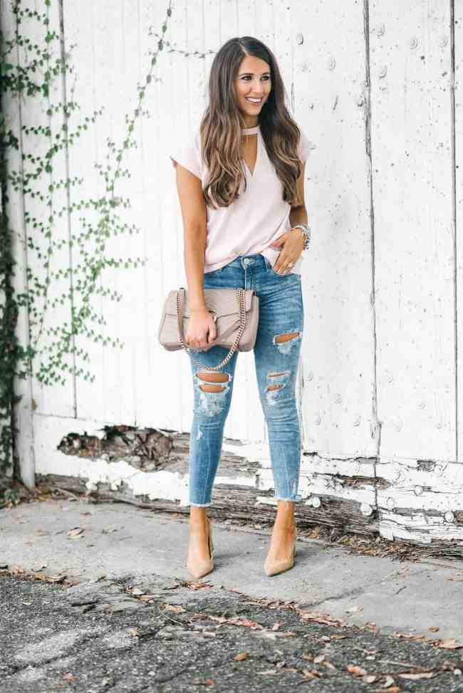 Dress Up Buttercup, Dede Raad, Houston Blogger, Fashion Blogger, Best Distressed Denim