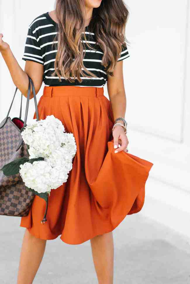 Mod Cloth Skirt, Houston, Texas, summer skirt, houston fashion, fashion blogger, Dress up Buttercup