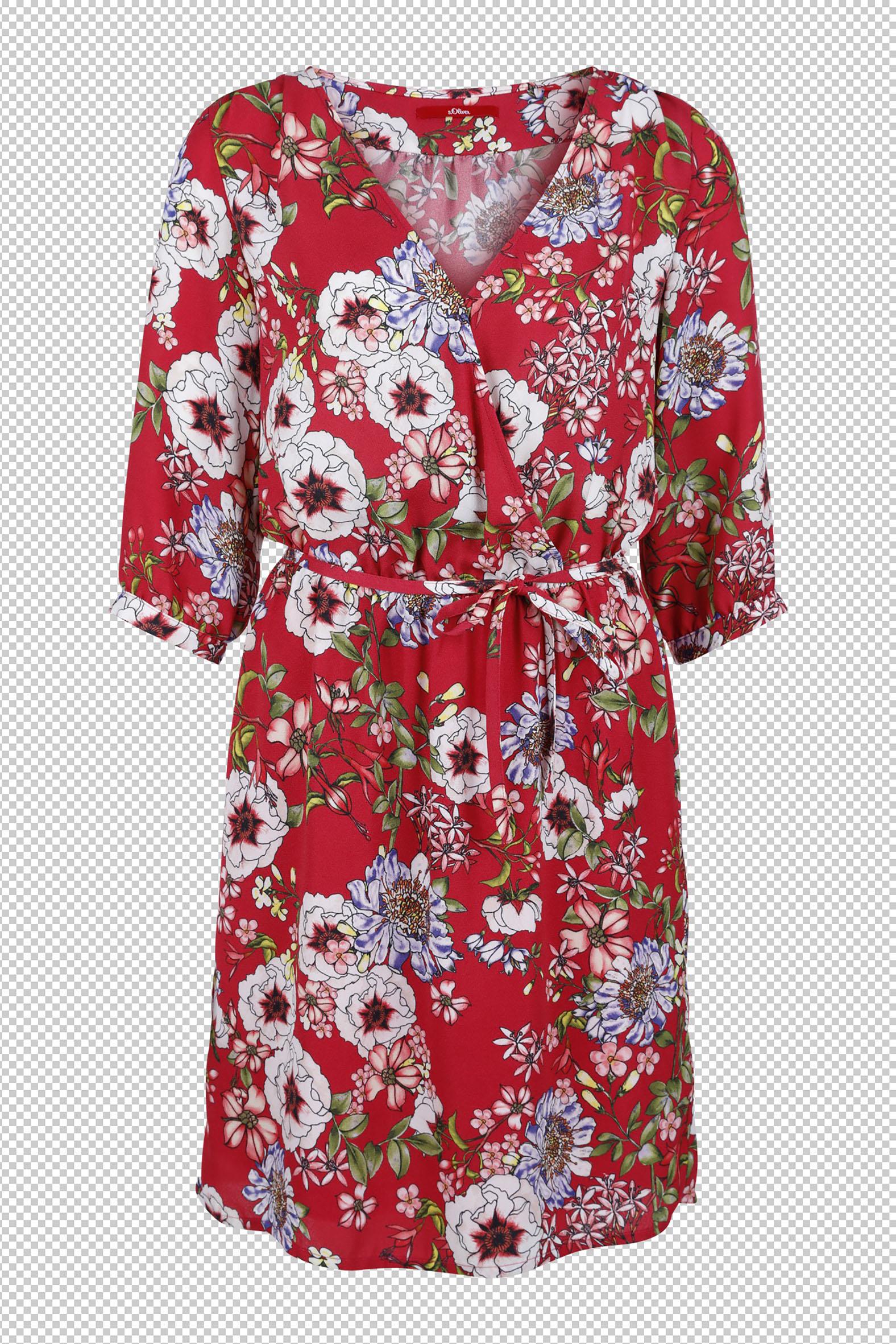 Wer Kleider liebt, kann sich in dieser Saison freuen (Kleid von s.Oliver).