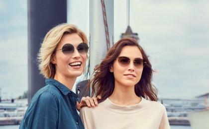 Rahmenlose Sonnenbrillen liegen derzeit im Trend - sie sind vielseitig und betonen vor allem das Gesicht und den Teint.