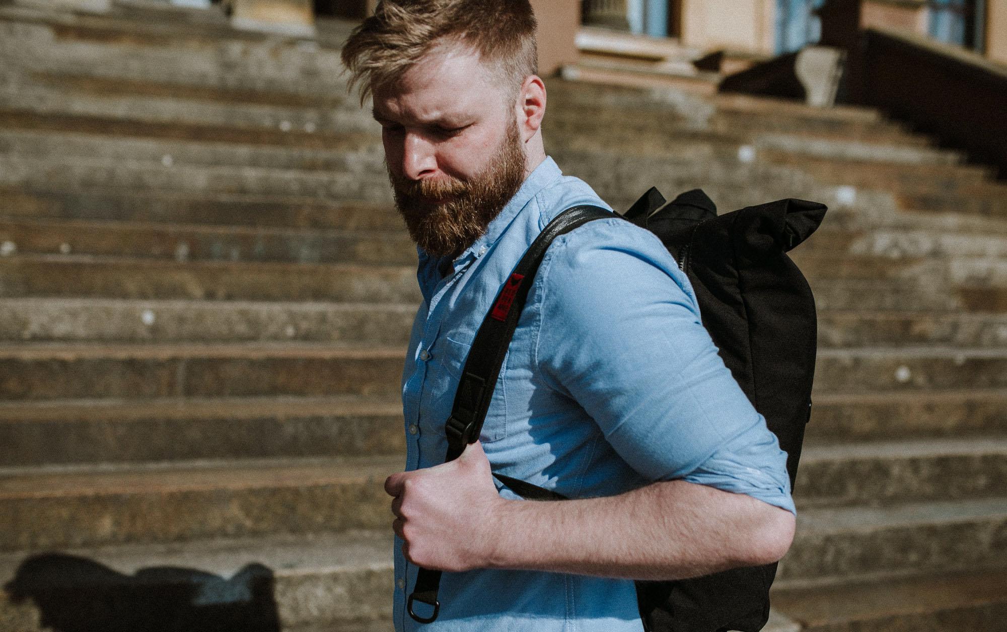 Rucksack als praktisches Gadget