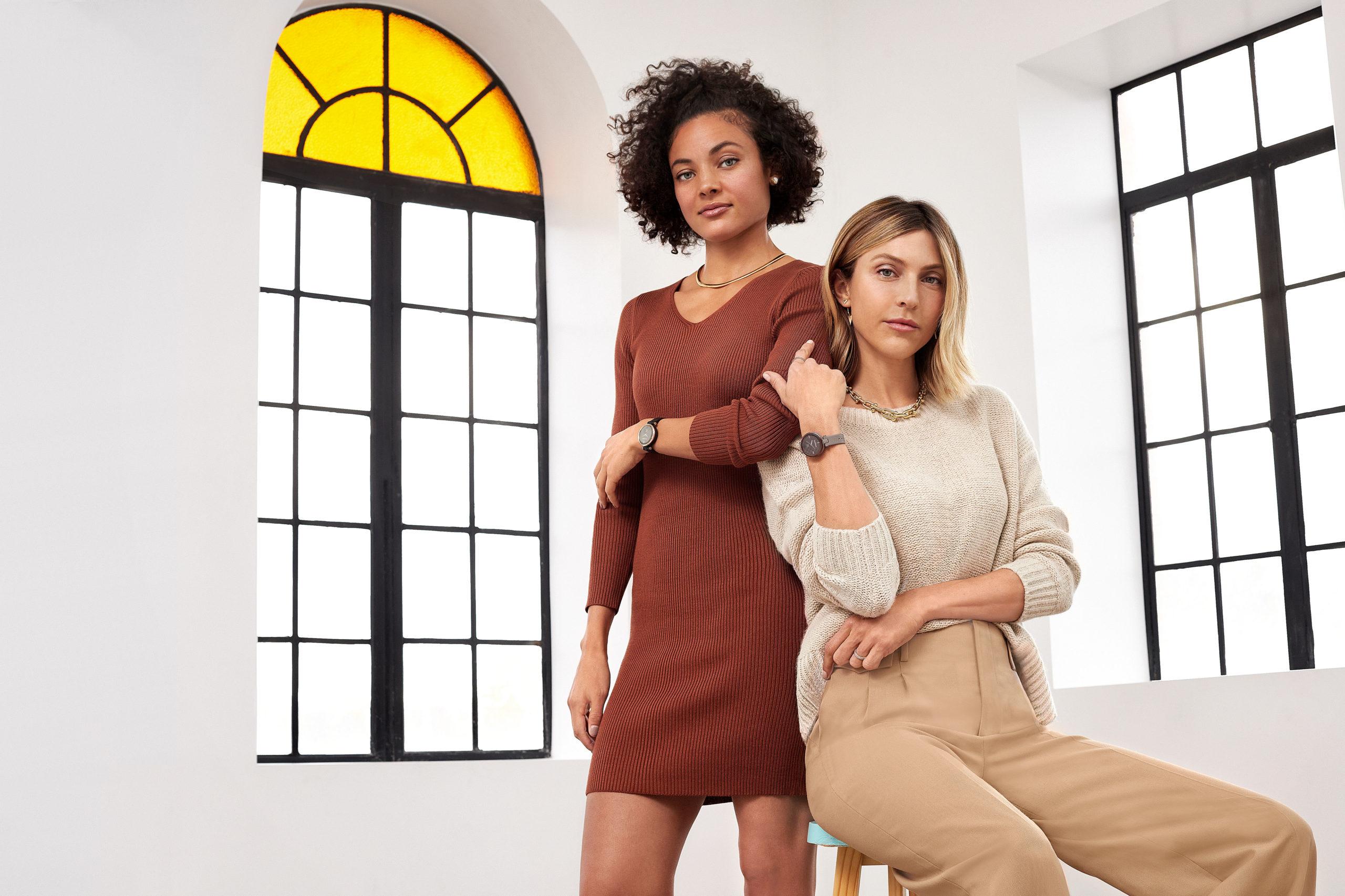 feminine Smartwatch als Modeaccessoire