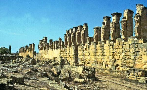 Города Ливии и Африка
