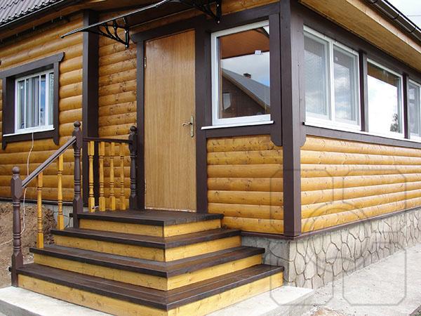 Блок-хаус   Отделка блок хаусом от 500 руб/кв.м.  ДревОтделка