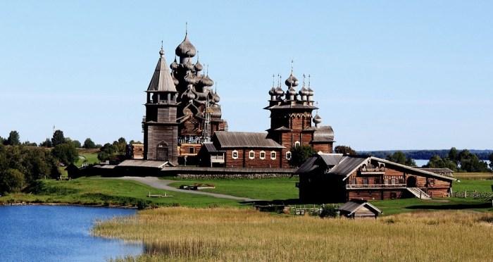 Деревянная архитектура Кижей