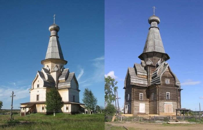 история деревянного храма