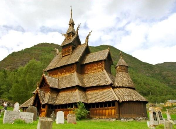 Деревянные церкви Норвегии   Деревянное зодчество