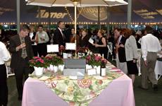 Gourmet Sensation table display