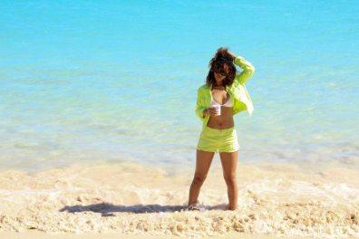 Rihanna Posts Sexy Photos of Herself Topless in Hawaii 09
