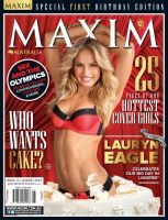 Lauryn Eagle Maxim Australia August 1st Birthday Edition Hi Res Photos - 001