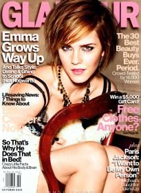 Emma Watson Glamour Magazine October 2012 [Photos] - 001