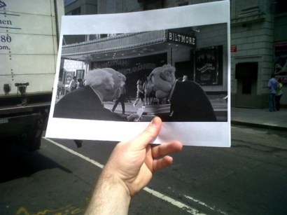 Movie Scenes Overlapped With Real LifeThe Muppets Take Manhattan 1984 012