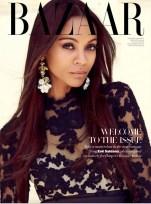 Zoe Saldana Harper's Bazaar Arabia September 2012 [Photos] - 004