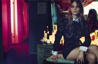 Jennifer Lawrence by Mark Seliger for Vogue Italia December 2012 [Photos] 001